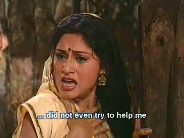 Махабхарата I Mahabharat - 52 Серия из 94 (1988-1990)