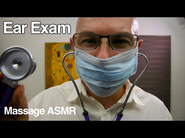 ASMR Roleplay Ear Exam with Dr Dmitri Medication Consultation