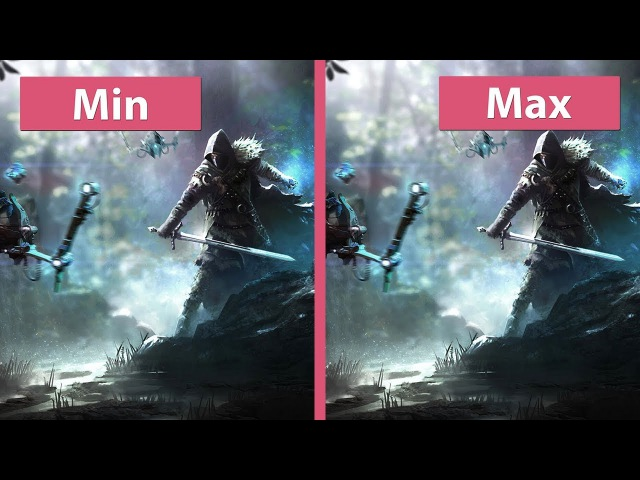 ELEX – PC 4K Min vs. Max Preview Graphics Comparison