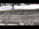 POTHOLEs in PONTIAC MLK BLVD