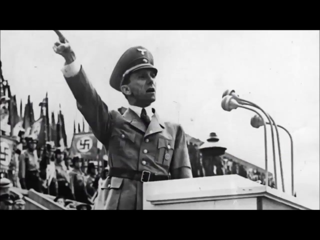 Joseph Goebbels - We National Socialists Have Never Feared The Jews! [Reupload]