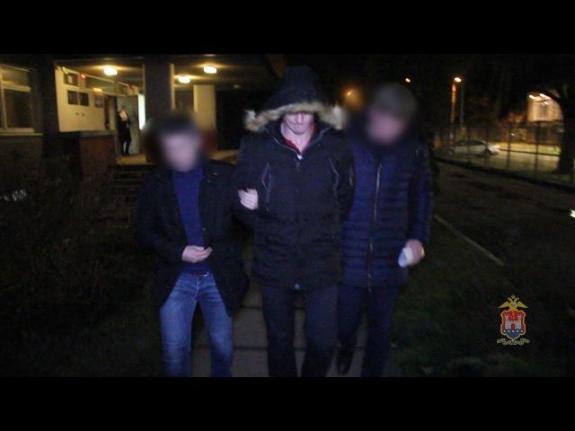 Оперативники УгРо задержали подозреваемого в жестоком избиении и ограблении калининградца