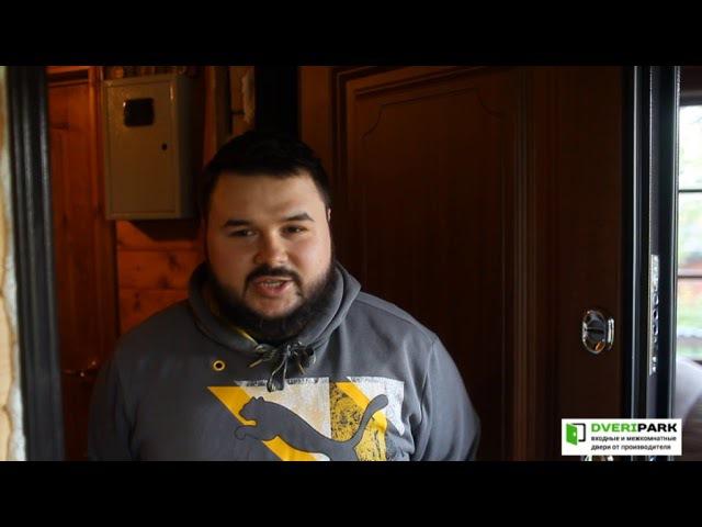 DveriPark.ru - отзыв, дверь Torex Snegir 45 MP Орех грецкий
