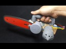 How to make a Chainsaw Using 775 Motor and PVC Pipe
