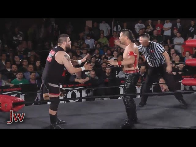 Shinsuke Nakamura vs Kevin Steen Highlights War of the Worlds 2014