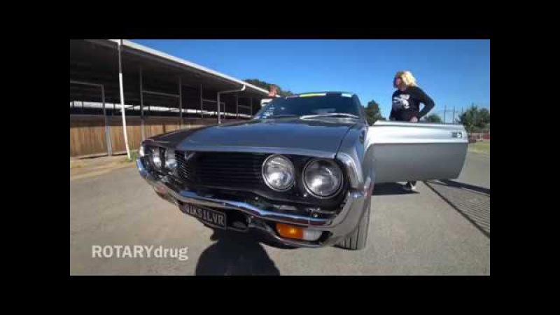 ROTARYdrug fresh build rx4 down the strip @ Summernats 31 2018 interview with owner great guy