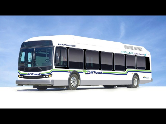 BC Transit Fuel Cell Bus 2010 13