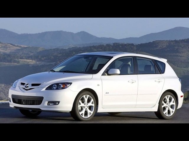 Mazda3 Hatchback US spec BK2 06 2006–09