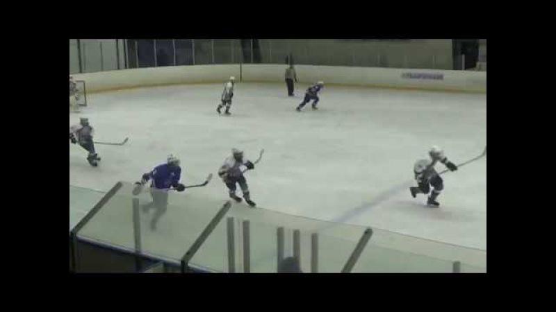Третий период игра команд СКА-Газпромбанк - Бульдоги 19.11