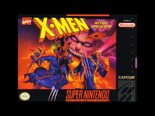 X-Men: Mutant Apocalypse. SNES. No Damage Walkthrough