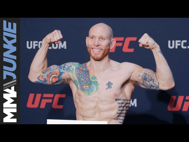 UFC on FOX 28 main event weigh in highlight