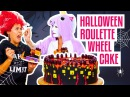 How To Make A GROSS-Tacular Surprise Inside HALLOWEEN ROULETTE CAKE | Yolanda Gampp | How To Cake It