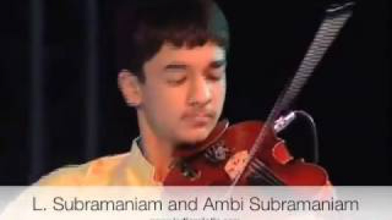 Violin concert father and son - L Subramaniam and Ambi Subramaniam