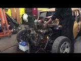 Первый запуск ИЖ 412 с двигателем ГАЗ 53