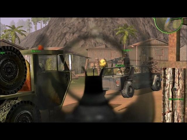 Delta Force: Первая кровь - Delta Force: Xtreme - прохождение - миссия 1-6 - Волчья стая