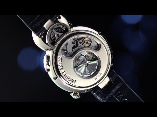 Introducing the Jaquet Droz Lady 8 Flower Featuring a Blooming Mechanical Flower