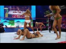 WWE RAW Divas Swimsuit Tag Team Match