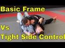 BJJ White Belt Can't Regain Guard with Basic Frame Escape bjj white belt can't regain guard with basic frame escape