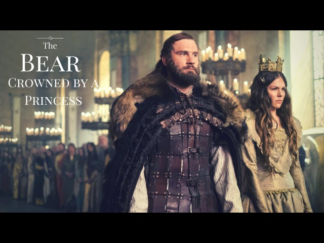 Vikings || The bear crowned by a princess (Gisla Rollo)