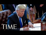President Trump Signs Order To Send Americans Back To The Moon With Vice President Pence TIME