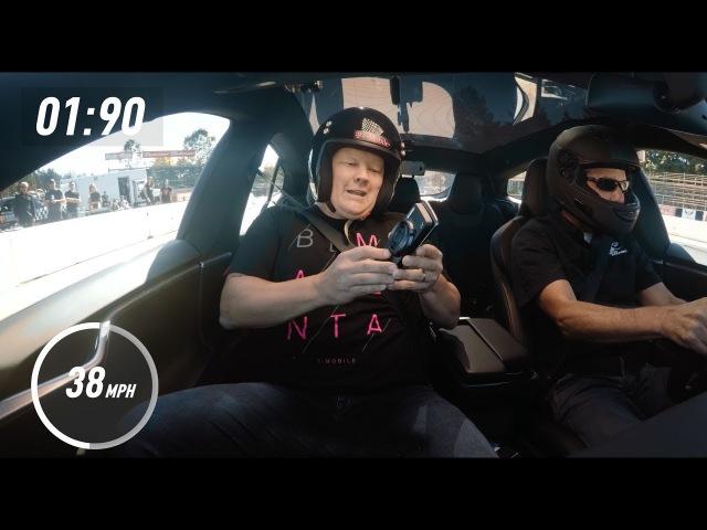Motorola Z2 Force Mods vs. Ludicrous Tesla P100D