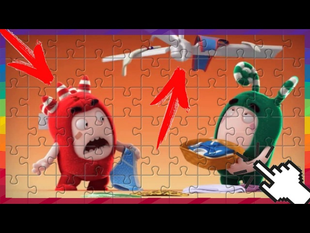 Cartoon - Oddbods - The House Of Mischief - Funny Cartoons For Children | PUZZLE GAMES FOR KIDS