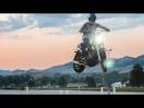 INSANE HARLEY JUMP: HARLEY DAVIDSON JUMPING