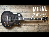 Wild Melodic Metal  Guitar Backing Track Jam in Dm