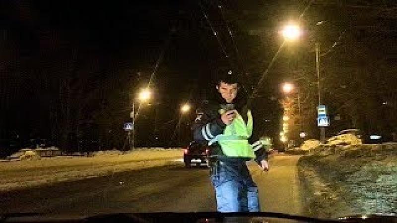 Граждансикй контроль Инспектор ГИБДД назначает СТРЕЛКУ