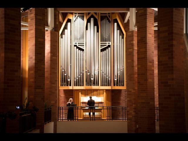 Hans André Stamm Stücke für Flöte und Orgel