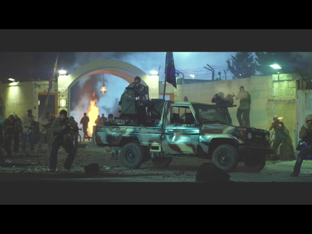 13 HOURS The Secret Soldiers of benghazi fight scene
