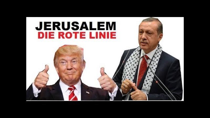 Jerusalem Erdogan zeigt Landkarte und zielt auf diesen Staat | Deutsch
