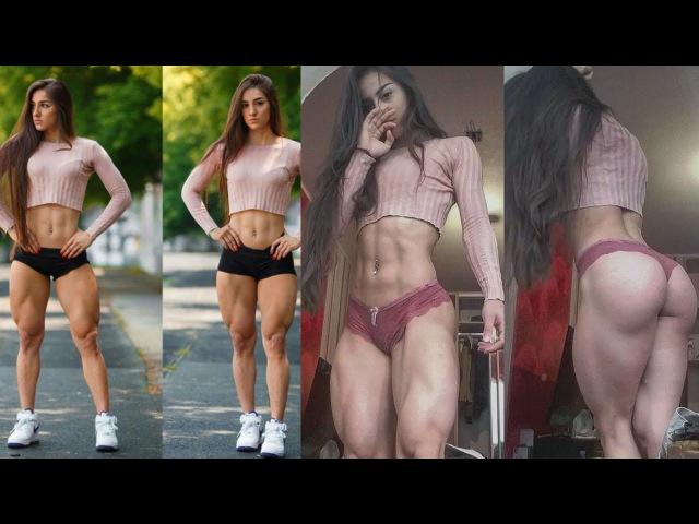 Bakhar Nabieva - Ukrainian fitness model / Amazing Glutes Quads