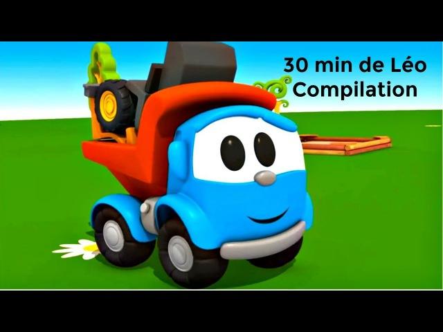 30 MIN de Léo le Camion Curieux 2017 COMPILATION dessins animés éducatifs en français pour enfants