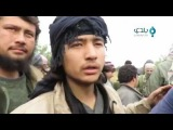 لحظة تسليم عناصر تنظيم الدولة أنفسهم لغرف&#15