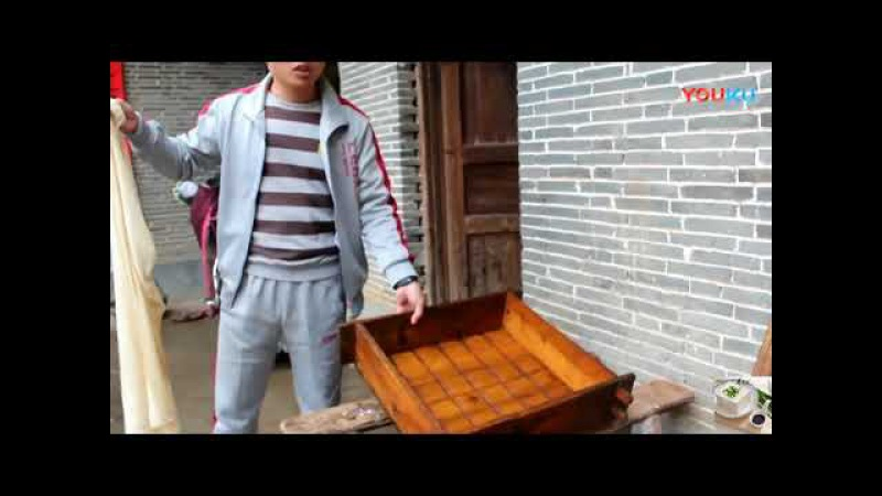 Make Beancurd(Tofu) manually without any electronic equipment in China Countryside