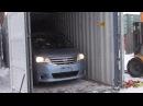 Автоаукционы Японии выгрузка из контейнера 4 авто Токидоки