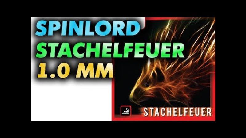 SPINLORD Stachelfeuer 1 0 mm for aggressive defense техника и тактика длинных шипов