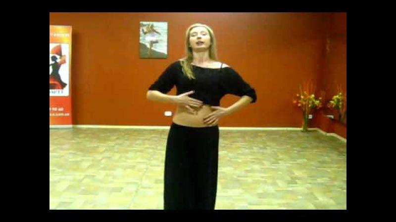 Видеоурок по восточным танцам студия танца Скарлетт.wmv
