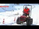 Биатлон на мини-тракторах МТЗ в Беларуси Вдохновились золотом на Олимпиаде в Пхенчхане