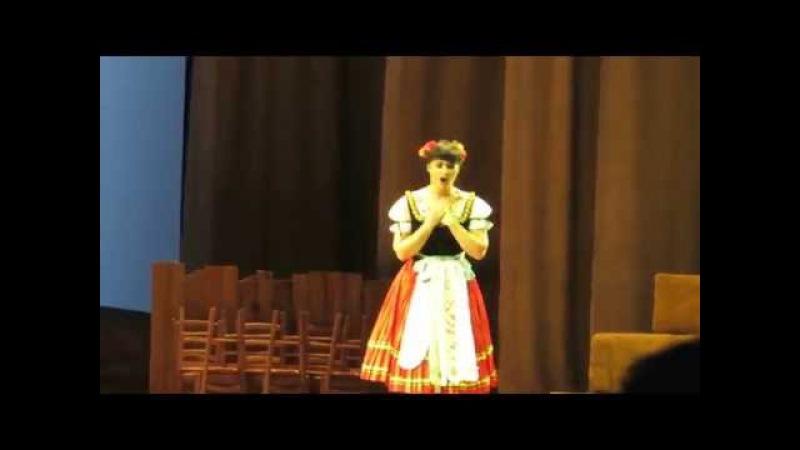 Olga Peretyatko- Paolo Bordogna:duetto Adina-Dulcamara. Internationale Maifestspiele Wiesbaden