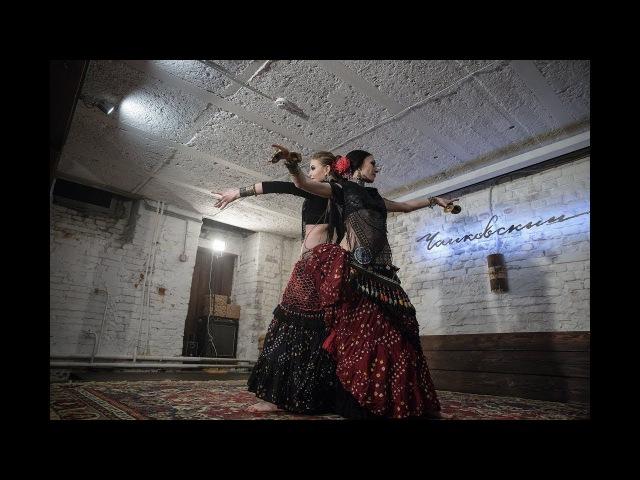 Dagaz ATS-duet Dagaz tribe American tribal style®