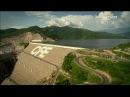 Строительство и Обслуживание плотины со шторными затворами Как это сделано HD