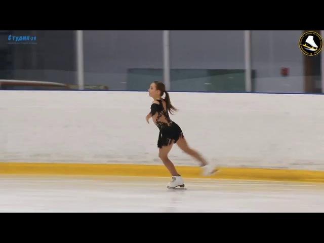 Анастасия Костюк - Anastasia Kostyuk SP - Кубок города Москвы - Зима 2018