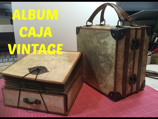 ALBUM CAJA VINTAGE parte 3 (Alexandra M)