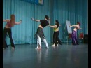 Anna Scaglia stage Yamil Annum - Modern Belly Dance-Congresso Riccione 2010