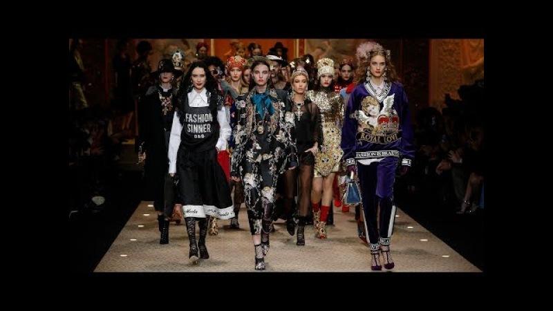DolceGabbana Fall Winter 2018/19 Women's Fashion Show