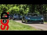 Supercar Acceleration Sounds   Veyron SS, Aventador S, LP640 + +