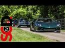 Supercar Acceleration Sounds | Veyron SS, Aventador S, LP640
