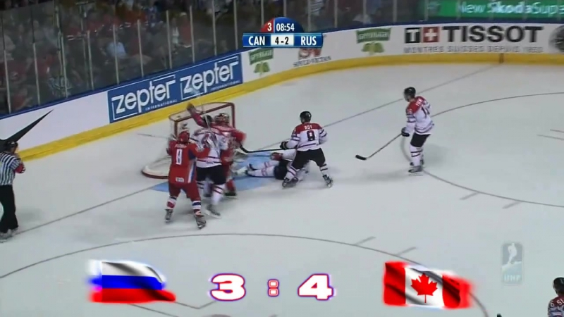 Россия Канада финал 2008